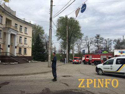 Сегодня в Запорожье заминировали суд