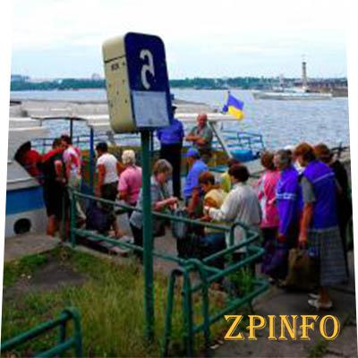 Сезон навигации в Запорожье открыт