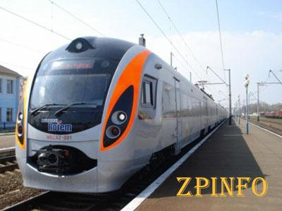 Скоростной поезд до Киева будет отправляться из Запорожья ежедневно