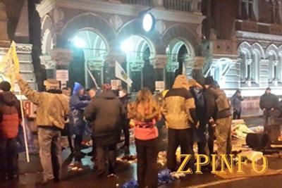 Причастных к разгону финансового майдана у стен НБУ нашли (Видео)