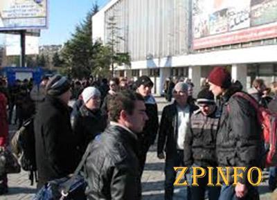 Столица Крыма парализована