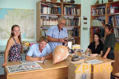 Студенты исторического факультета обнаружили артефакты