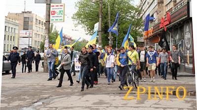 """Студенты провели """"Марш Мира"""" за единство Украины"""