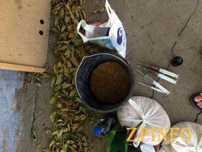 У безработного нашли наркотиков на 15о тыс. грн.