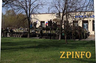 У сепаратистов отбили два БМП