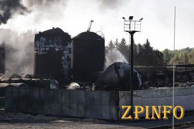 Угроз взрывов и возгорания на нефтебазе в Васильковом нет