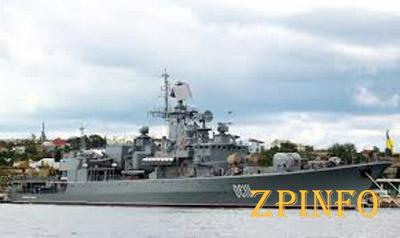 Украине придется поделиться военными кораблями