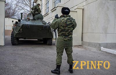Украинская часть под Симферополем готова стоять насмерть