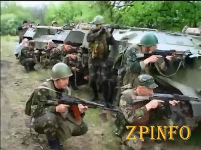 Украинские военные уничтожили  тренировочный лагерь боевиков