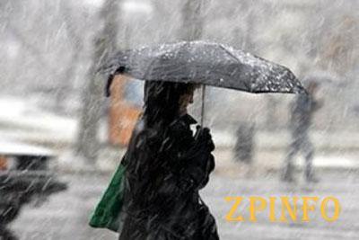 Украинцам обещают дожди с мокрым снегом