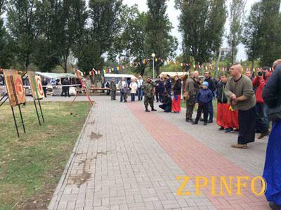 В Запорожье прошли Всеукраинские казацкие игры