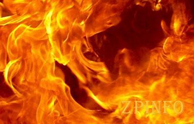 В Днепровском районе Запорожья сгорел «ВАЗ»