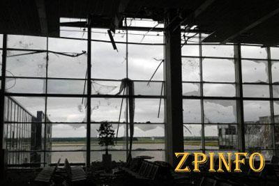 В Донецком аэропорту установлено перемирие (Видео)