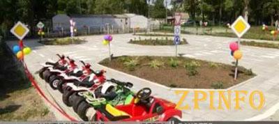 В Дубовой роще открылась детская автошкола (Видео)