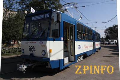 В городе появилось два обновленных трамвая