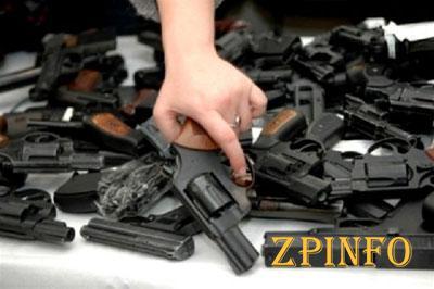 В июле запорожцы могут добровольно сдать оружие и не сесть в тюрьму