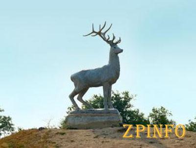 В Кирилловке реконструируют скульптуру оленя