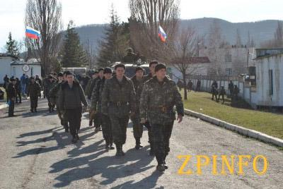 В Крым засылают российских военных срочной службы