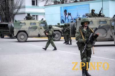 В Крыму заметили военных из Чувашии