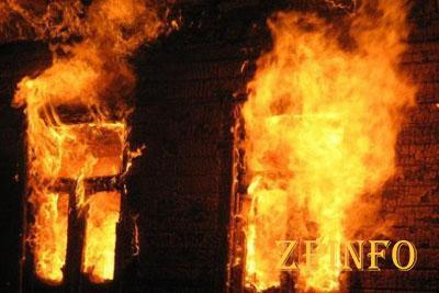 В Мелитополе при пожаре погиб пенсионер