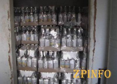 В Мелитополе работал подпольный завод по производству водки