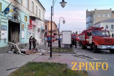 """В офисе ВО """"Свободы"""" в Сумах ночью произошел взрыв (Видео)"""