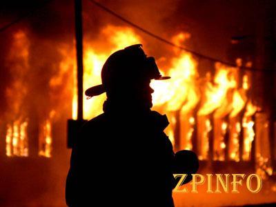 В Шевченковском районе Запорожья горел дом