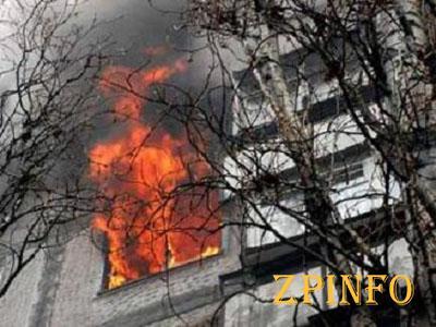 В Шевченковском районе Запорожья горела квартира