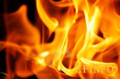 В Шевченковском районе Запорожья загорелся дом