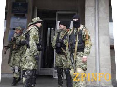 В Славянске вооруженные люди имеют гранатометы