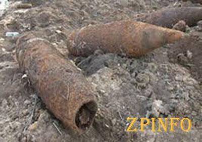 В спальном районе Запорожья нашли гранаты и мину