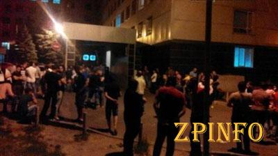 В центре Харькова 40 человек утроили кровавую резню (Видео)