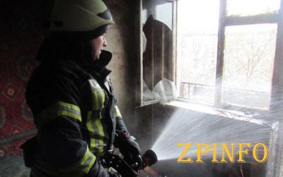 В центре Запорожья горела многоэтажка
