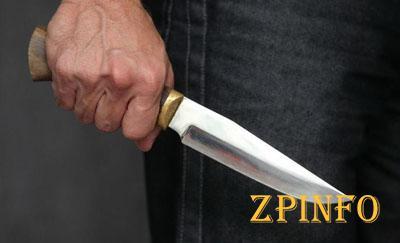 В центре Запорожья мужчину ударили ножом
