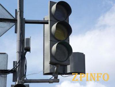 В центре Запорожья настоящий хаос из-за неработающих светофоров
