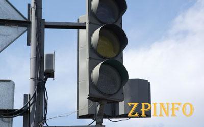 В центре Запорожья не работали светофоры