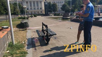 В центре Запорожья обнаружили труп 32-летнего мужчины