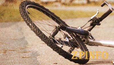 В центре Запорожья сбили велосипедистку