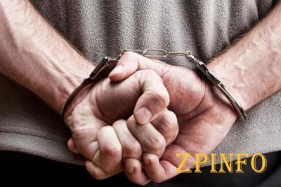 В центре Запорожья задержали двух мужчин