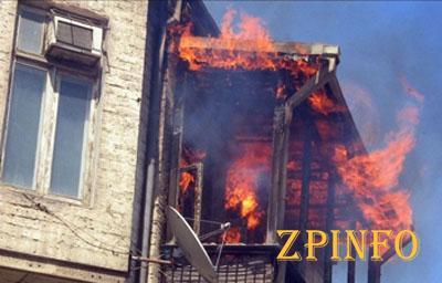В Запорожье 11-летний ребенок пытался потушить пожар в своей квартире