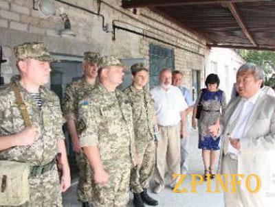 В Запорожье аэропорт будет охранять специализированная рота