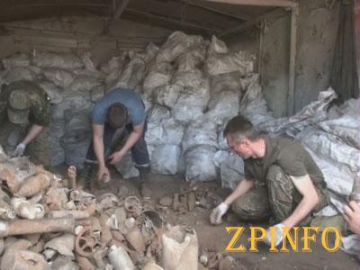 В Запорожье арестовали торговца взрывчаткой, выкопанной из земли