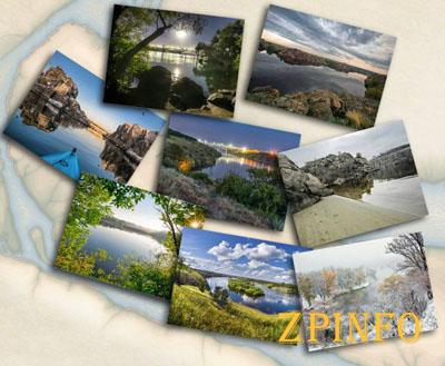 В Запорожье артгалерея издала 8 уникальных открыток