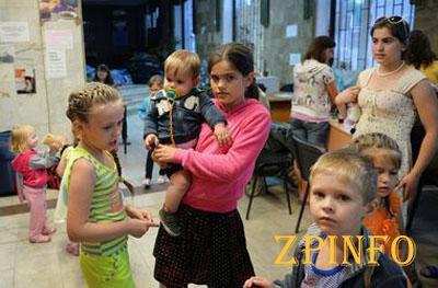 В Запорожье беженцам поможет немецкая организация