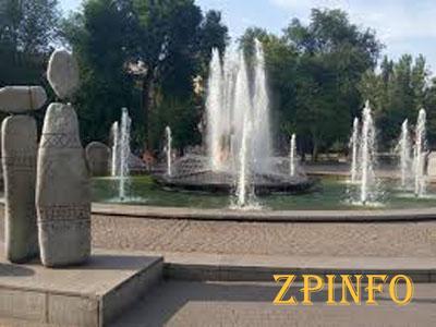 В Запорожье фонтаны отключили на зиму