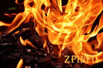 В Запорожье горел дом в Шевченковском районе