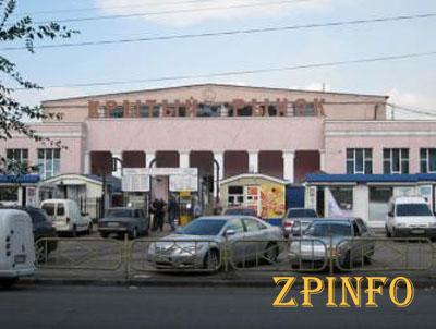 В Запорожье горел Крытый рынок