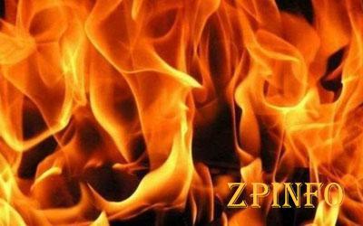 В Запорожье горел жилой дом