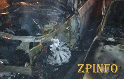 В Запорожье горели три авто