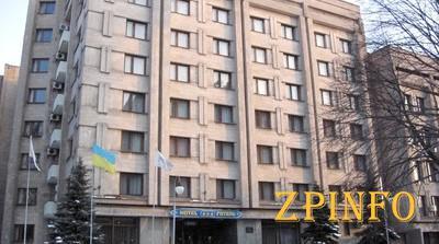 """В Запорожье гостиница """"Украина"""" не работает из-за аварии"""
